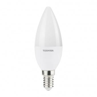 лед лампа 5w, e14, топла светлина, toshiba, 2700k, 250lm, 00501760488a