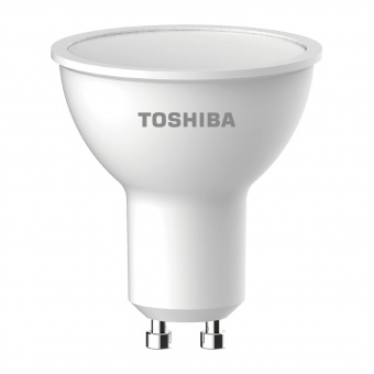 led лампа 4w, gu10, топла светлина, toshiba, 3000k, 345lm, 00601760167a