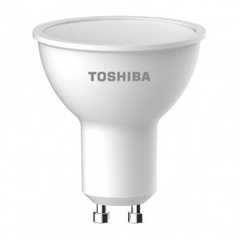 led лампа 4w, gu10, бяла светлина, toshiba, 4000k, 345lm, 00601760361a