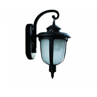 градински фенер желъд, black, 1х40w, acron bk