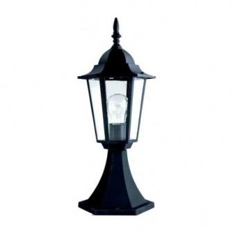 градински фенер малък стоящ, black, pacific, 1х40w, small 03 bk