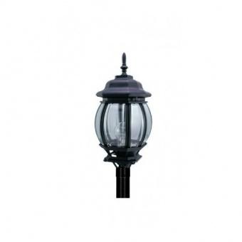 градински фенер голям стоящ, black, pacific, 1x40w, big 02 bk