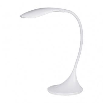 pvc работна лампа, white, rabalux, dominic, led 4,5w, 3000k, 480lm, 4166