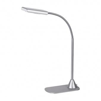 метална работна лампа, silver, rabalux, edward, led 6w, 4500k, 350lm, 4448