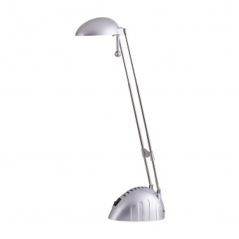 pvc работна лампа, silver, rabalux, ronald, led 5w, 6400k, 350lm, 4335