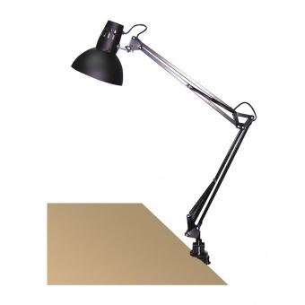 метална работна лампа, black, rabalux, arno, 1x60w, 4215