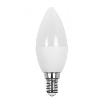 лед лампа 5w, e14, топла светлина, ultralux, 2700k, 450lm, LC51427