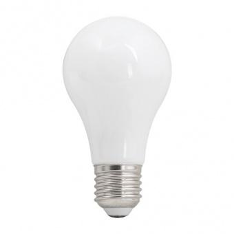 лед лампа, топла светлина, ultralux, 6w, e27, 2700k, 570lm, lb62727