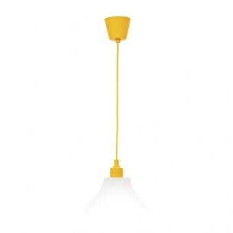 pvc пендел, жълт, elbulgaria, 1x40w, 1170 yl