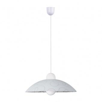 pvc пендел, white/transparent, rabalux, ada, 1x60w, 1844