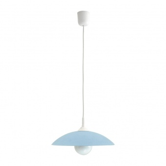 pvc пендел, blue/white, rabalux, cupola range, 1x60w, 4612