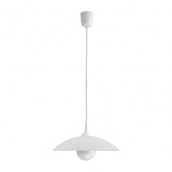 pvc пендел, white, rabalux, cupola range, 1x60w, 4615