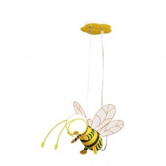 pvc пендел, multicolour, rabalux, bee, 1x40w, 4718