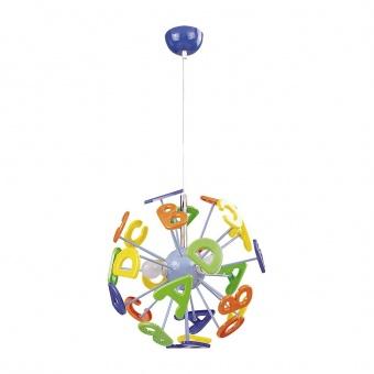 метален пендел, multicolour, rabalux, abc, 3x40w, 4716