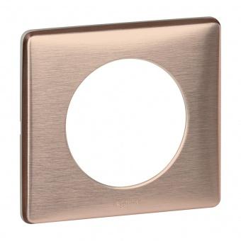 метална рамка, мед, legrand, celiane, 68991