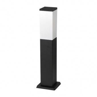 метално  градинско тяло, matte black, rabalux, bonn, 1x60w, 8338