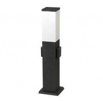 метално  градинско тяло, matte black, rabalux, bonn, 1x60w, 8339