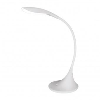pvc работна лампа, white, eglo, dambera, led 4.5w, 3000k, 520lm, 94674