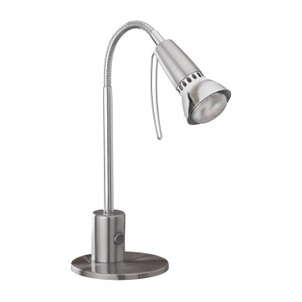 метална работна лампа, chrome, eglo, fox 1, 1x40w, 86955