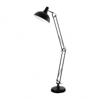метален лампион, black, eglo, borgillio, 1x60w, 94698