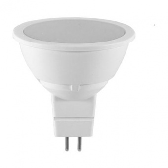 led лампа 6w, mr16, топла светлина, 3000k, 500lm, 100°, led lamp cap mr16 12v frost, 19966