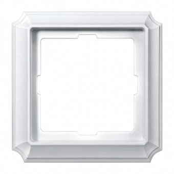 рамка, полярно бял, schneider, merten antique, mtn483119