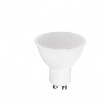 led лампа 7w, gu10, бяла светлина, 4500k, 540lm, led lamp gu10 120°, 13612