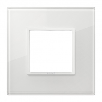 алуминиева рамка, total white diamond, vimar, eikon evo, 21642.87