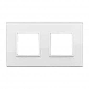 алуминиева рамка, total white diamond, vimar, eikon evo, 21643.87
