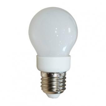 led лампа 3w, e27, топла светлина, 3000k, 230lm, cap globe a50, 00971