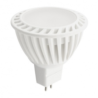 лед лампа, 4w, mr16, топла светлина, ultralux, 2700k, 320lm, l2s22016427