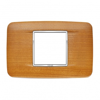 дървена рамка, american cherrywood, vimar, eikon chrome, 20682.C36