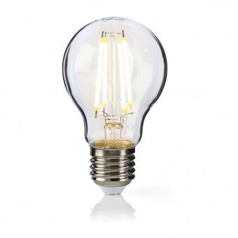 led лампа 6w, e27, топла светлина, 2700k, 600lm, 300°, filament a60, L020207235