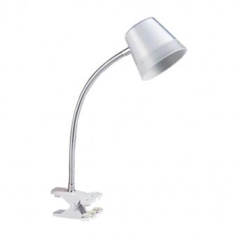 метална работна лампа, chrome/white, prezent, vigo, led 4w, 4000k, 300lm, 26050