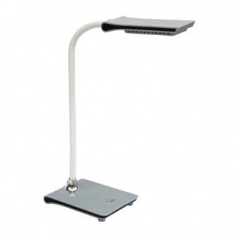 pvc работна лампа, grey, prezent, jonas, led 5w, 6500k, 300lm, 26029