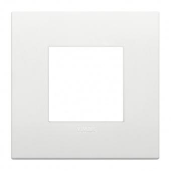 pvc двумодулна рамка, white, vimar, arke, 19642.74