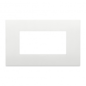 pvc четримодулна рамка, white, vimar, arke, 19654.74