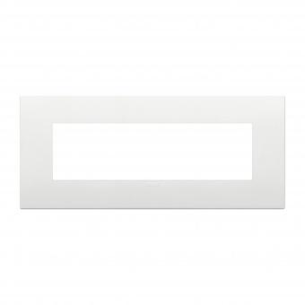 pvc седеммодулна рамка, white, vimar, arke, 19657.74