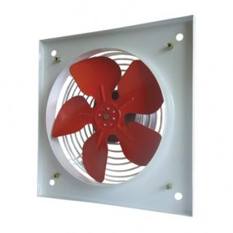 промишлен вентилатор, бял, с клапа, mmotors, 200/4, 550/600m/h3, 58w, метален корпус, mm pvo, 2280