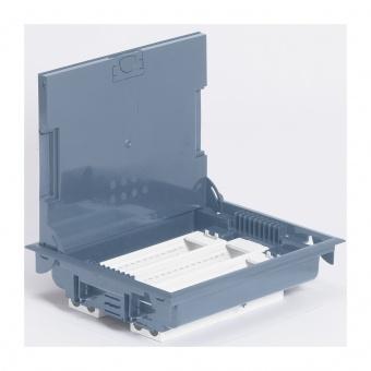 подова кутия 24 модула /3х8 мод./ с метален капак, legrand, 89616