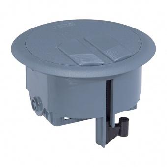 подова кутия 3 модула кръгла, legrand, 89644