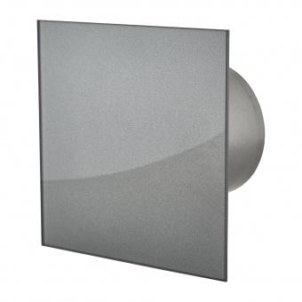 вентилатор за баня, квадрат с клапа, асфалт, mmotors, ф100/169, 169m/h3, 18w, mm-p, 06 стъкло права, 4727