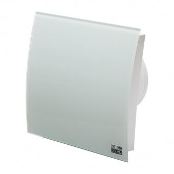 вентилатор за баня, квадрат с клапа, бял мат, mmotors, ф100/169, 169m/h3, 18w, mm-p, 06 стъкло овал, 4710