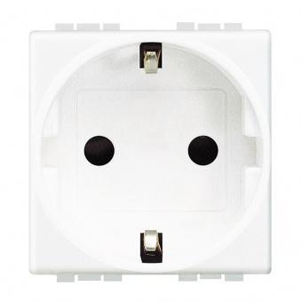 контакт, 16a, white, bticino, livinglight, n4141