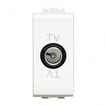 телевизионна розетка, white, bticino, livinglight, n4202d