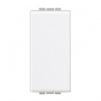 празен панел, едномодулен, white, bticino, livinglight, n4950