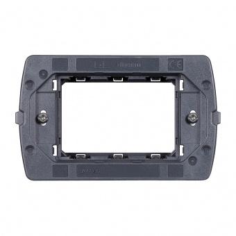 монтажна рамка, тримодулна, bticino, livinglight air, ln4703c