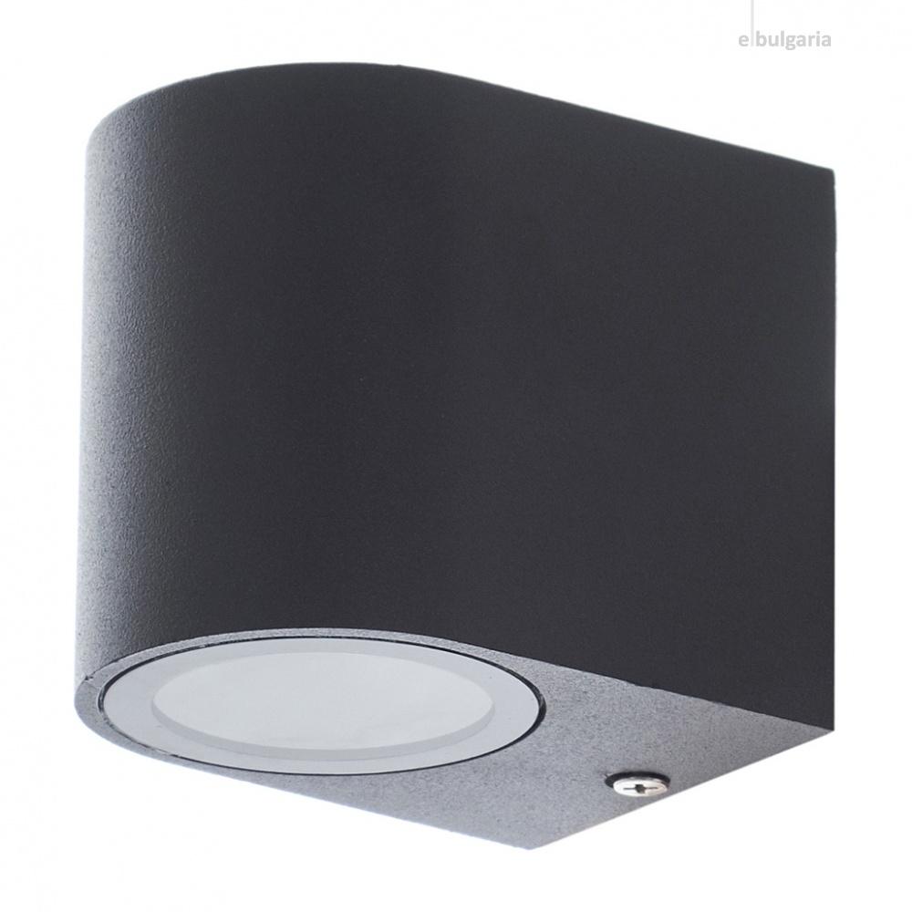 метален градински аплик, черен, elbulgaria, 1x40w, 1494 sbk