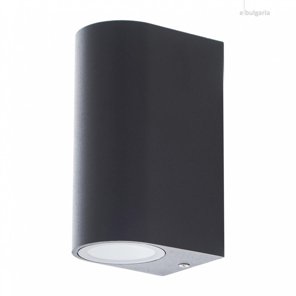 метален градински аплик, черен, elbulgaria, 2x40w, 1495 sbk