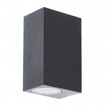 метален градински аплик, черен, elbulgaria, 2x40w, 1497 sbk